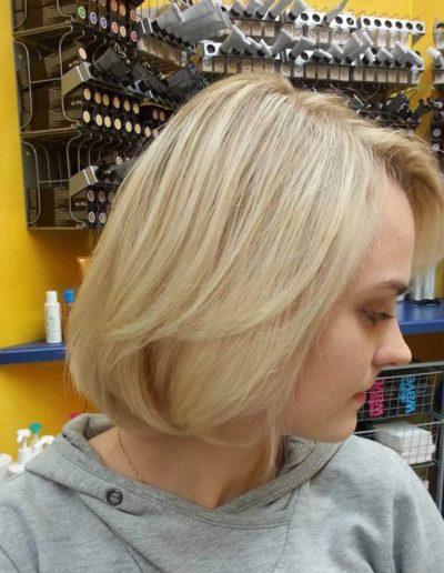 Natürliche Blondierung von Hair and Flair Diana - eurem Friseur in Frankfurt