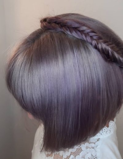 Pastel Violet Coloration von Hair and Flair Diana - Friseur Frankfurt